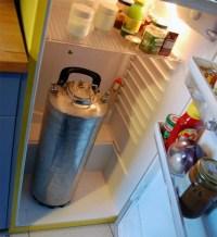 fusto in frigo